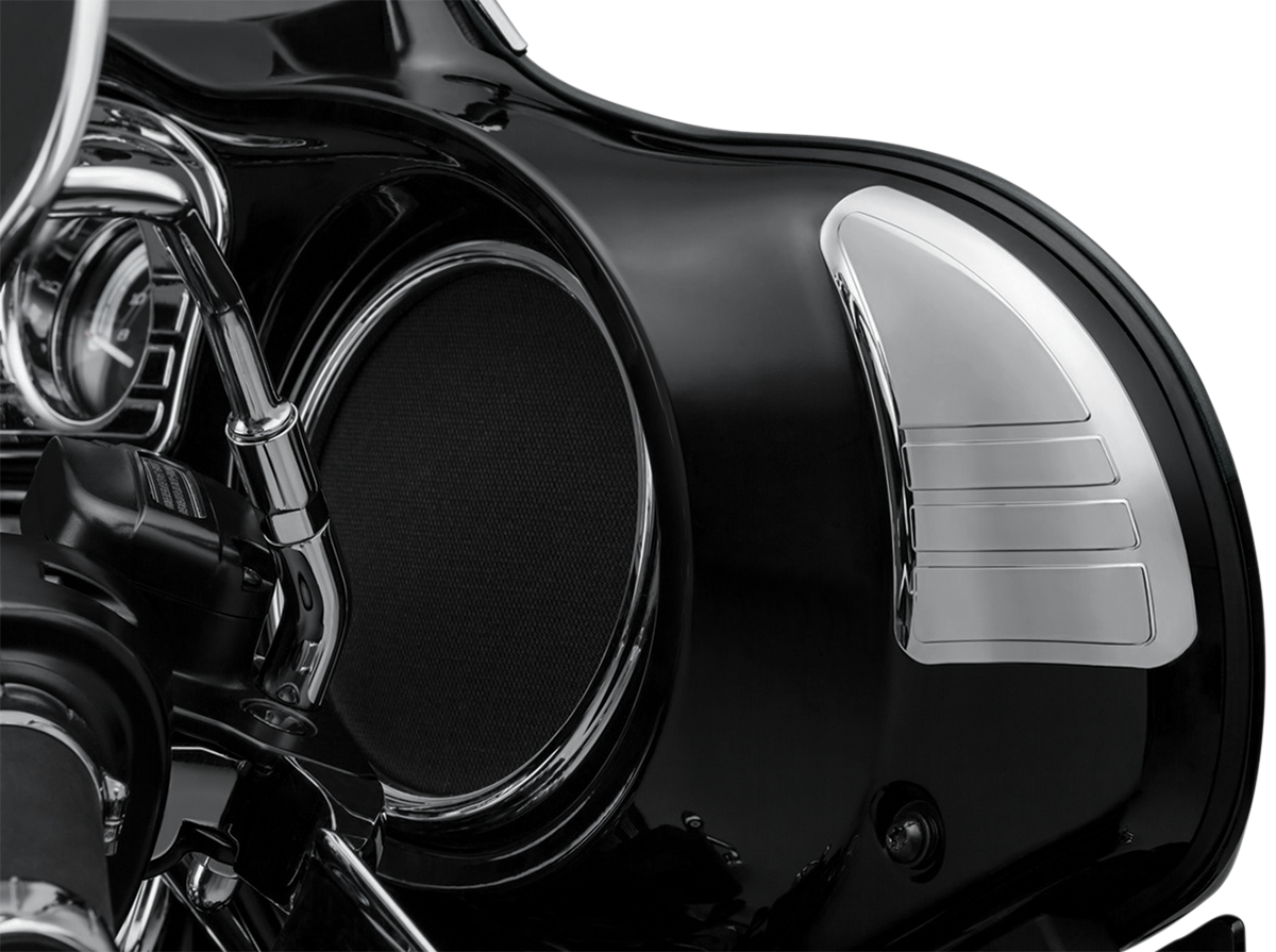 Kuryakyn 6978 Chrome Inner Fairing Covers for 14-18 Harley Touring FLHX FLHTCU
