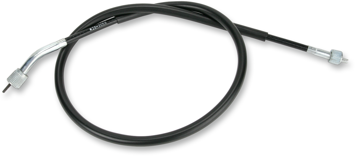 "Parts Unlimited 34 1/2"" Black Speedometer Cable for 85-03 Kawasaki ZL ZX EL"