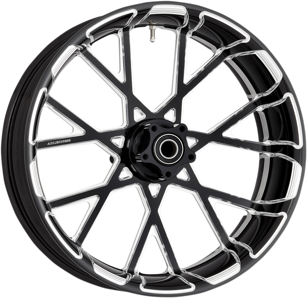 "Arlen Ness Procross Black 18"" x 5.5 ABS Rear Wheel for 09-19 Harley Touring FLHX"