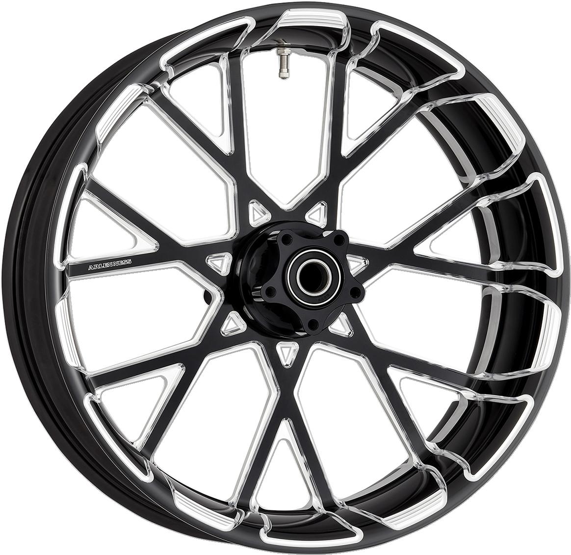 """Arlen Ness Procross Black 18"""" x 5.5"""" Rear Wheel for 09-19 Harley Touring FLHX"""