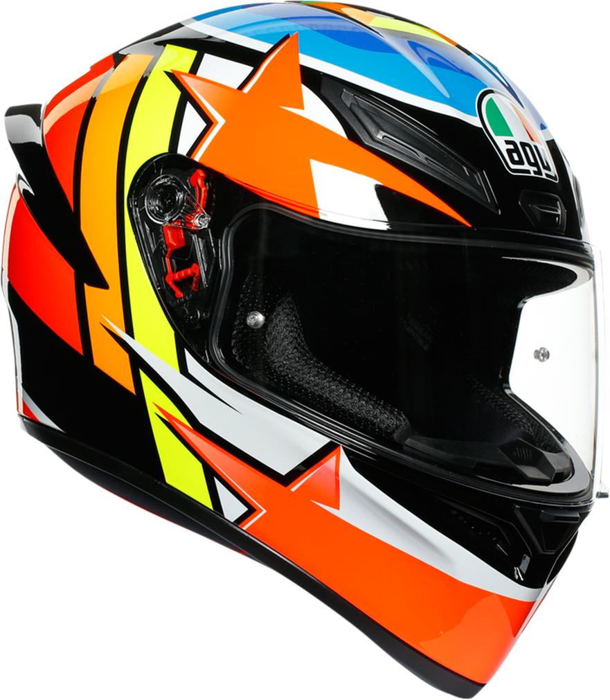 AGV K1 Rodrigo Unisex Adult Motorcycle Riding Street Racing Fullface Helmet