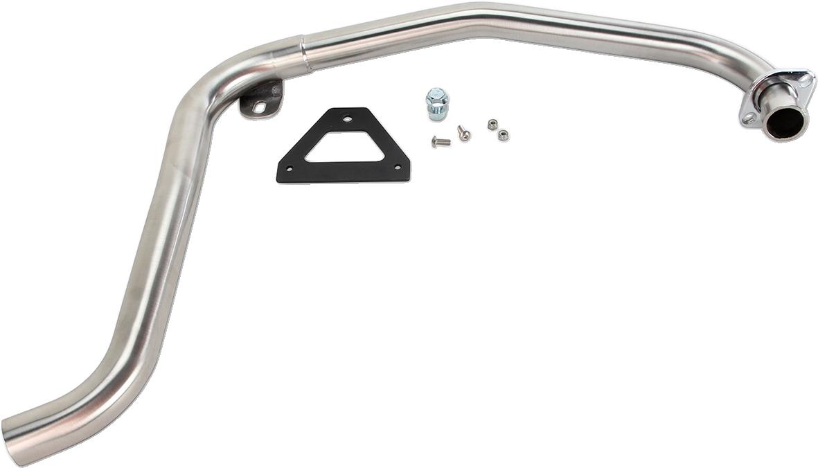 Bassani Stainless Steel Stepped Upper Exit Head Pipe for 14-16 Honda MSX125 Grom