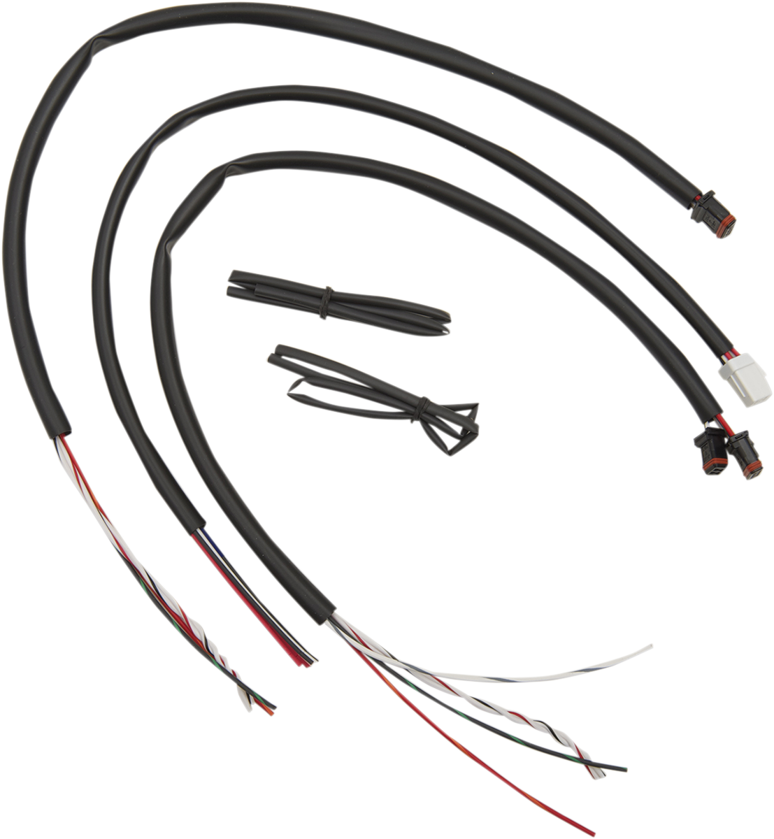 La Choppers Handlebar Wire Extension Kit 16-18 Harley Touring Softail Dyna