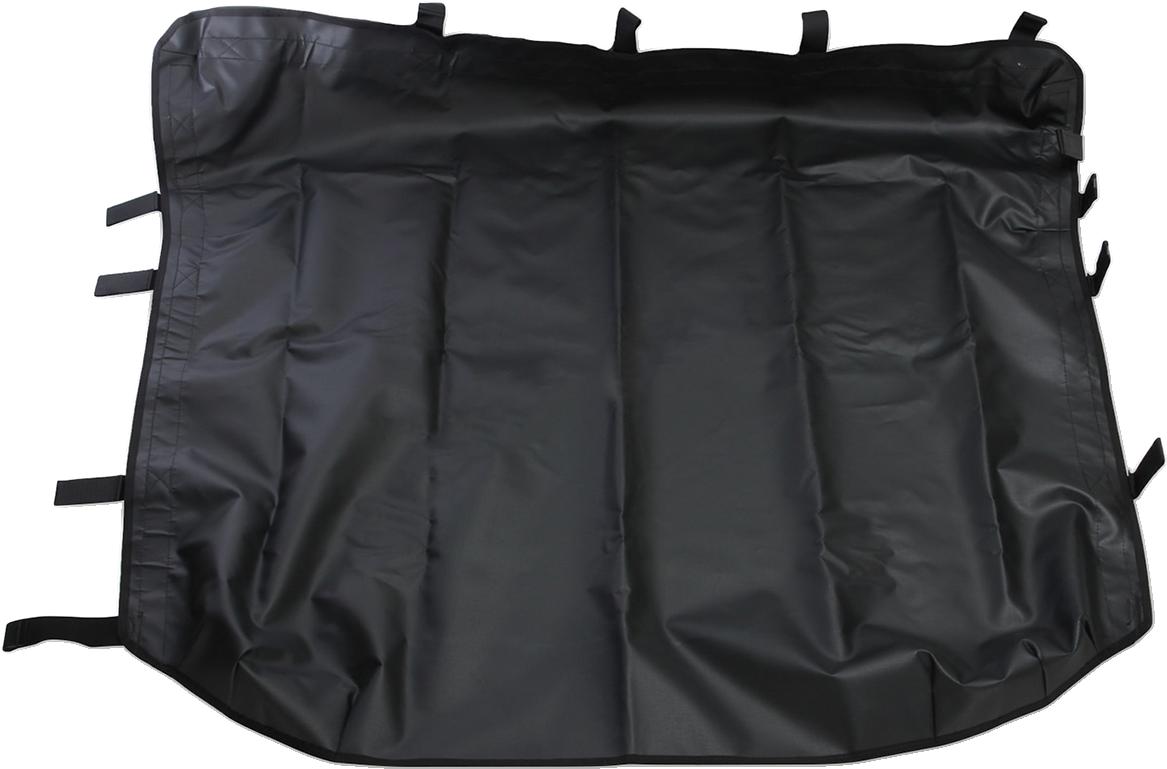 Moose Utility Black Vinyl UTV Roof Cap for 16-18 Polaris General 1000