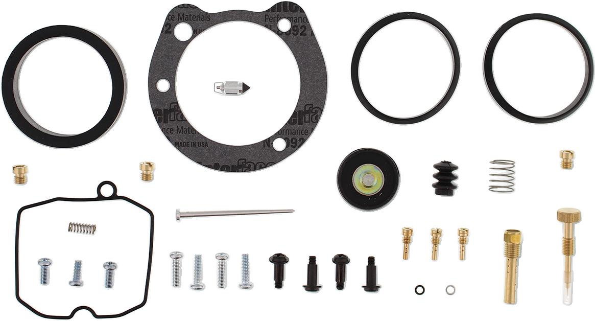 All Balls Carburetor Rebuild Kit for 99-06 Harley Dyna Touring Softail FLHX FXDX