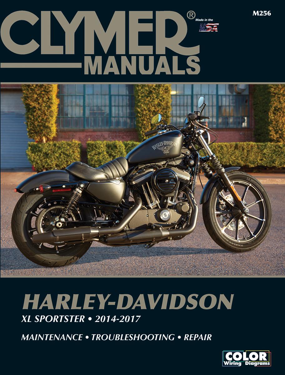 Clymer Motorcycle Service Manual 14-17 Harley Davidson Sportster XLC XLCX XLCP