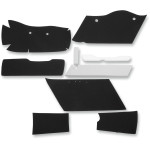 "LINER KIT FOR DRAG SPECIALTIES 4"" EXTENDED OEM-STYLE SADDLEBAGS AND LIDS"