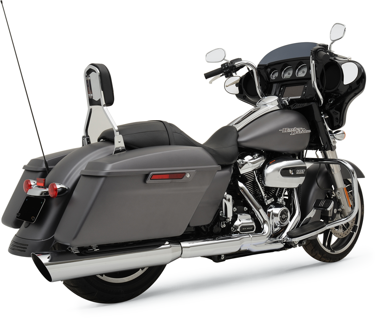 Khrome Werks 2-1 Chrome HP-Plus Slip on Muffler for 17-19 Harley Touring FLHX