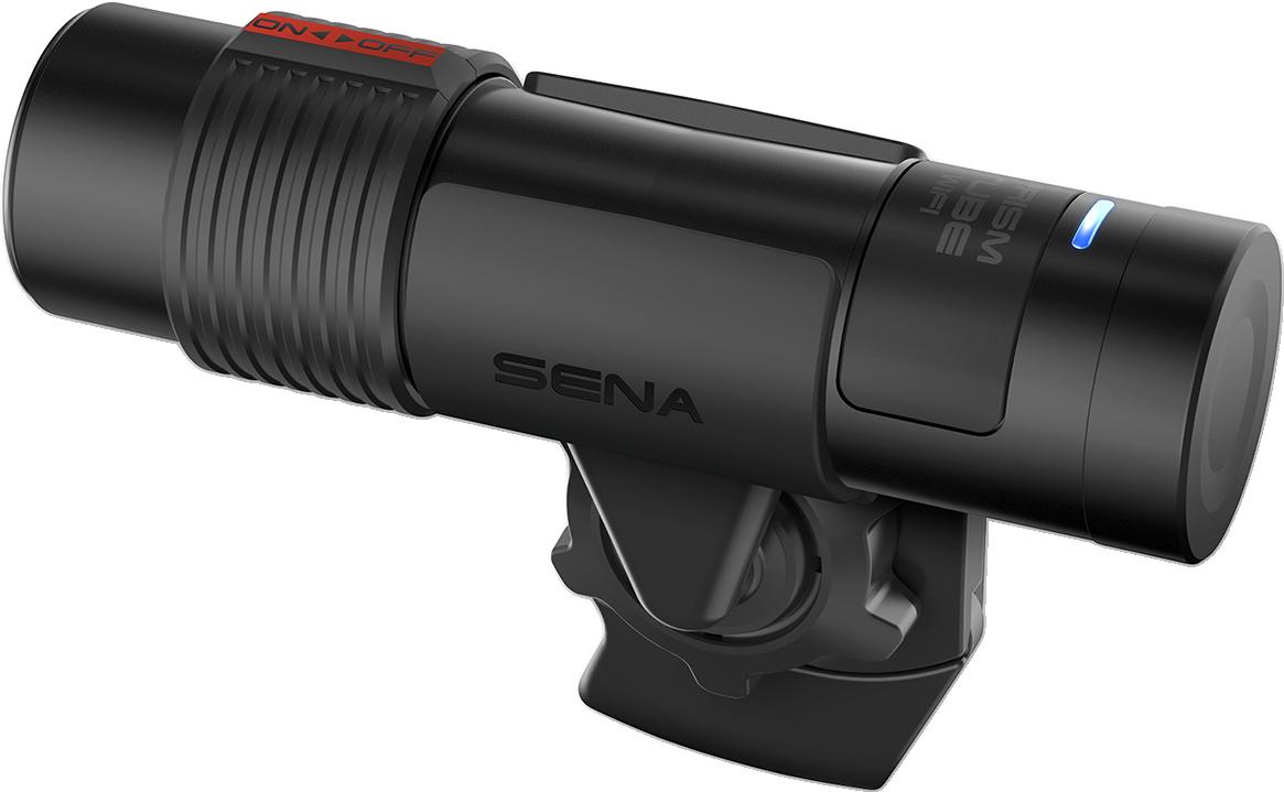 Sena Black Universal 2K HD Prism Tube Wifi Helmet Action Camera