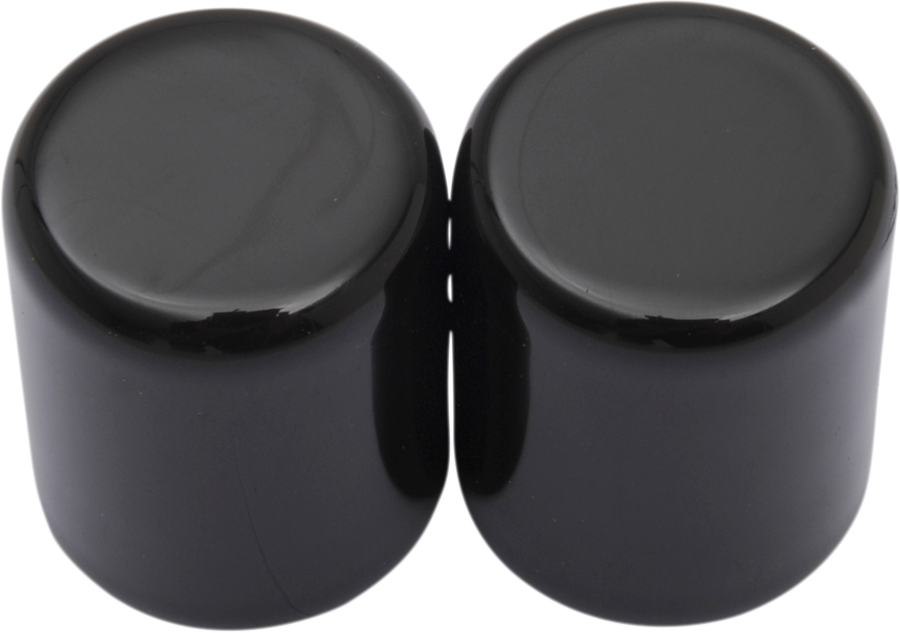 Drag Specialties Gloss Black Small Rear Luggage Magnetic Docking Point Covers