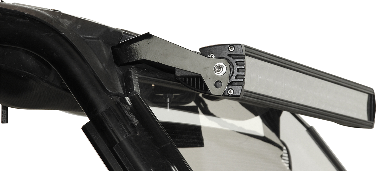 "Seizmik Black 30"" Side by Side UTV Lightbar Brackets for 14-15 Polaris RZR 1000"
