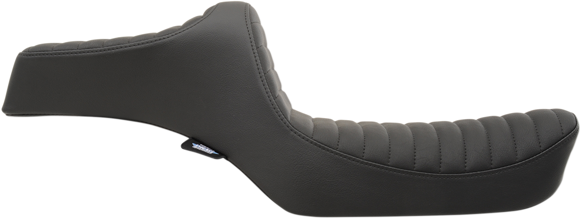 Drag Specialties Black Vinyl Predator Diamond Seat for 82-03 Harley Sportster XL
