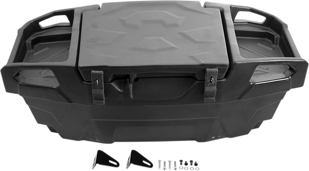 Kimpex Black UTV Rear Trunk for 14-17 Arctic Cat Wildcat Polaris RZR Sportsman