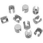 THROTTLE/IDLE CABLE RETAINING CLIPS AND FERRULES