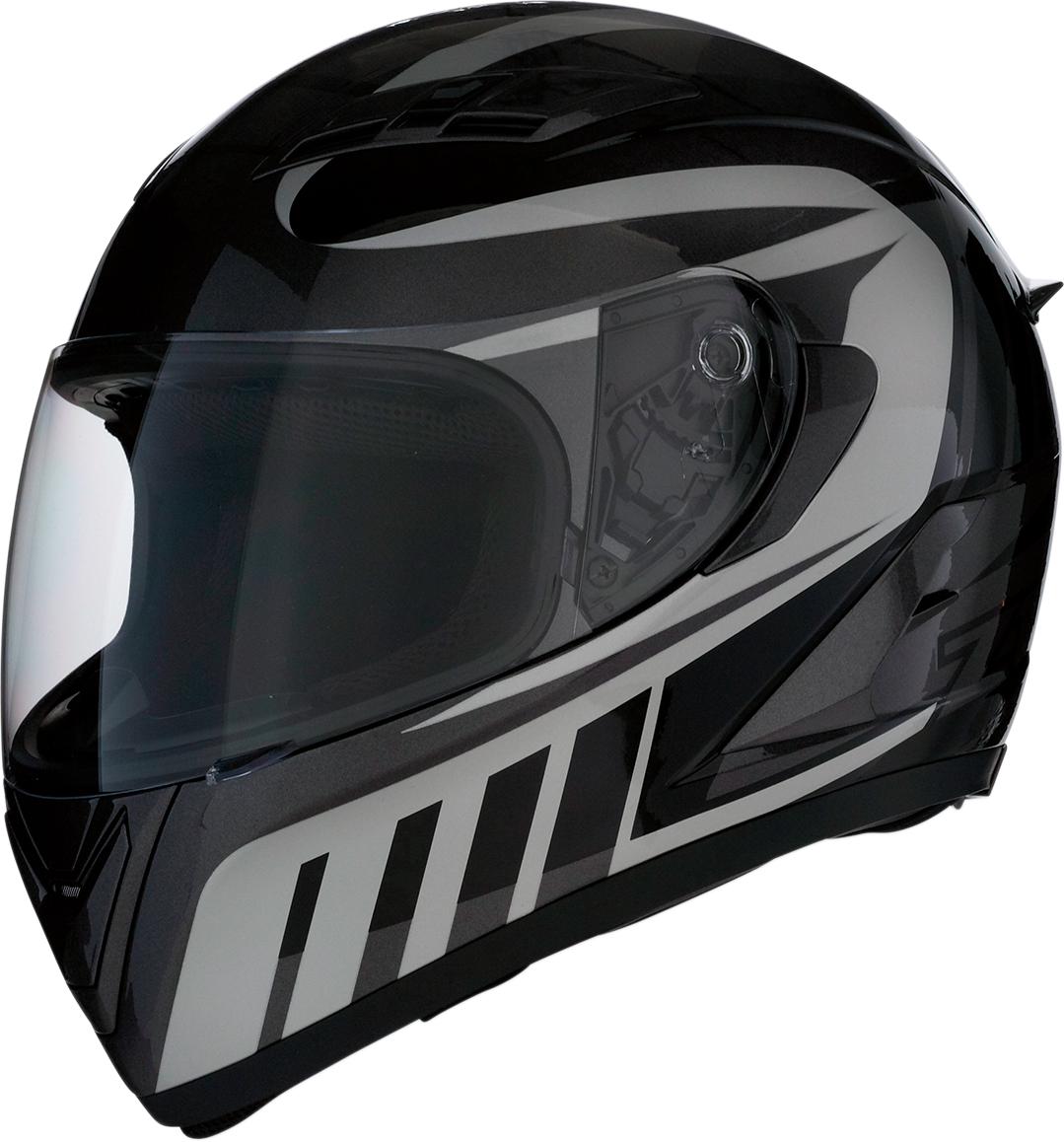 Z1R Strike Ops Attack Unisex Motorcycle Riding Street Racing Full Face Helmet