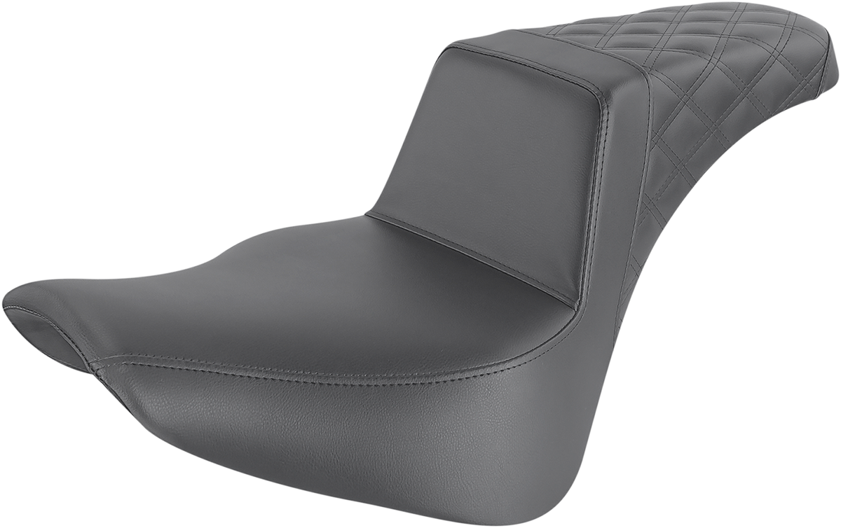 Saddlemen Step Up Pass LS Motorcycle Seat 18-20 Harley Softail FLSL FLHC FLDE