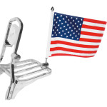 SQUARE RACK FLAG MOUNTS WITH FLAG