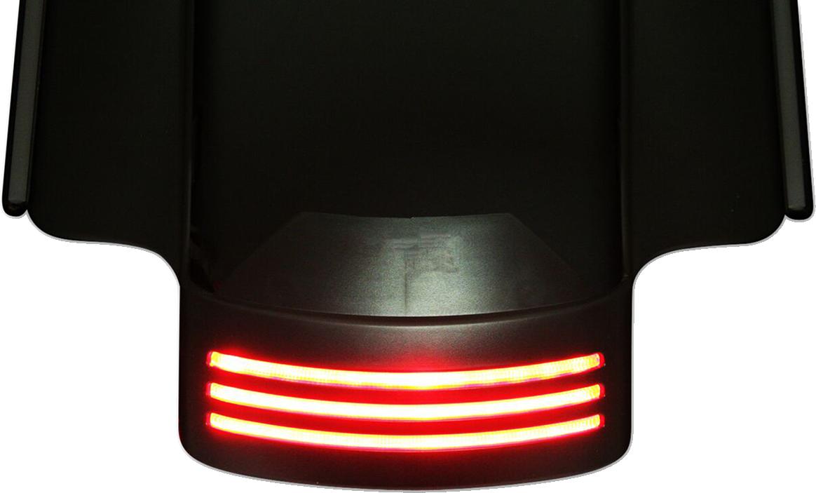 Custom Dynamics Smoked LED Tribar Taillight For 10-13 Harley Touring FLHX FLTRX