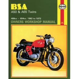 MANUAL BSA A50/A65 TWINS