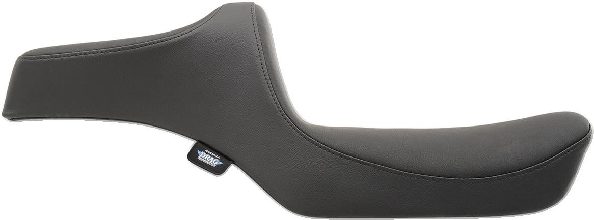 Drag Specialties Black Vinyl Predator Seat for 82-03 Harley Sportster XLL XLC XR