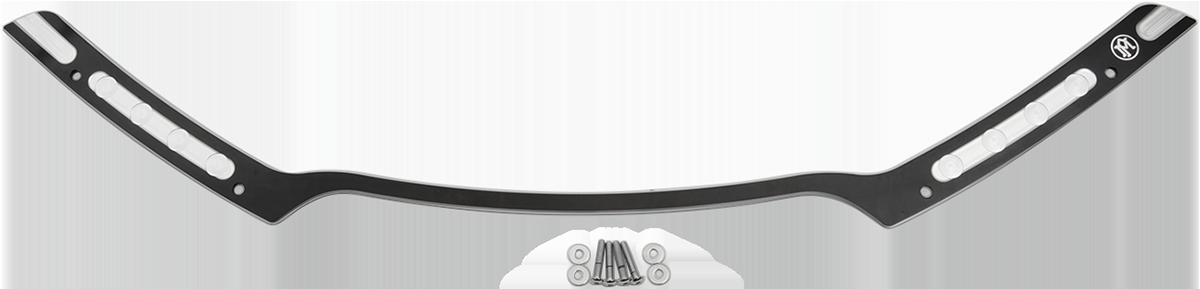 Performance Machine Black Chrome Hole Shot Fairing Trim 15-19 Harley FLTRX
