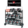 YUASA BATTERY DISPLAY RACK