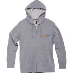 WOMEN'S AGELESS GRADIENT ZIP HOODY