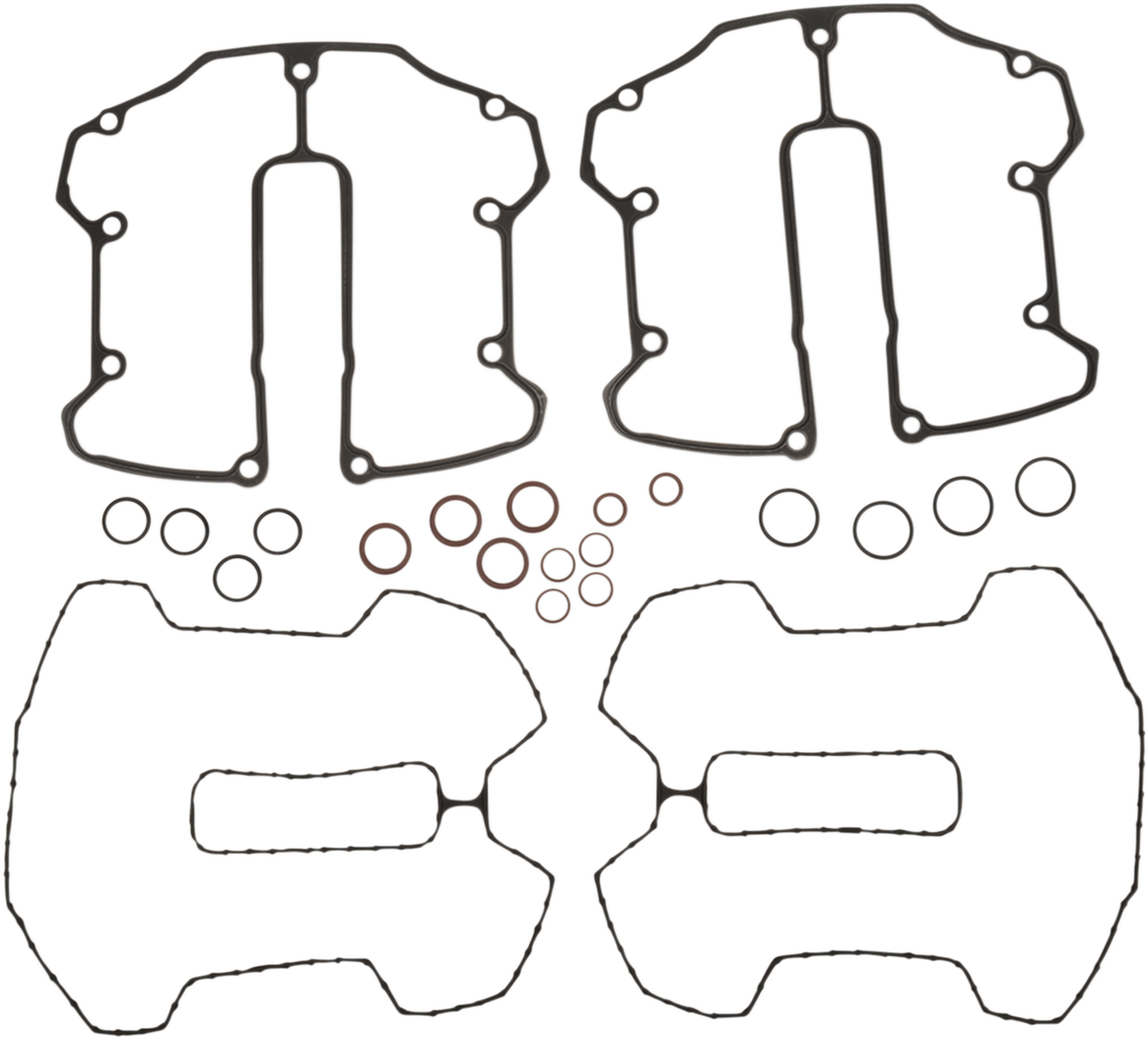 Cometic Engine Rocker Box Gasket Kit 17-20 Harley M8 Touring Softail FLHX FLFB