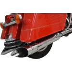 "ROTATABLE SLASH 4"" SLIP-ON MUFFLERS"