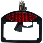 LED TAILLIGHT/TURN SIGNAL/LICENSE PLATE AND MOUNTING POCKETS