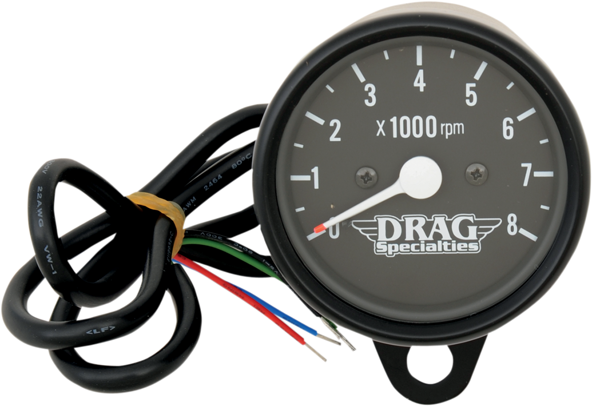 Drag Specialties Tachometer Wiring Diagram Wire Data Schema 4 2 Mini Electronic 8000 Rpm Tachometers Products Rh Dragspecialties Com Ford Boat