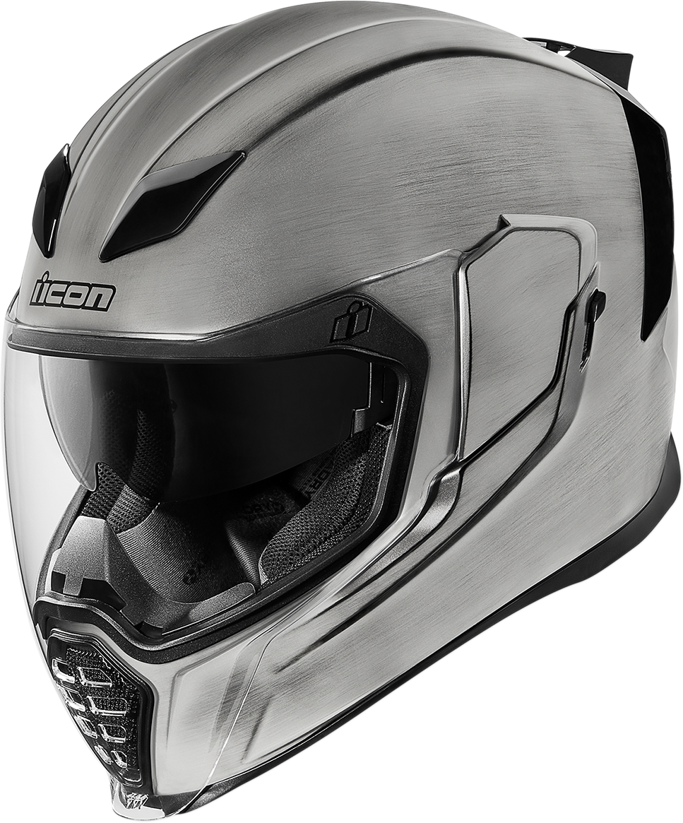 Icon Unisex Quicksilver Airflite Motorcycle Riding Street Racing Fullface Helmet