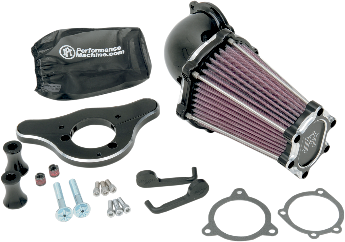 Performance Machine Contrast Fast Air Filter Kit for 93-17 Harley Touring FXDF