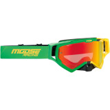 XCR HATCH GOGGLE - GREEN/YELLOW