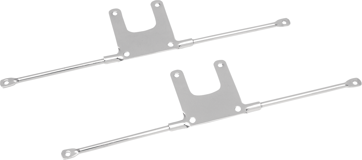 Drag Specialties Chrome Front Fender Mounting Brackets 73-00 Harley Sportster