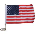 FLAG MOUNTS WITH U.S.A. FLAG