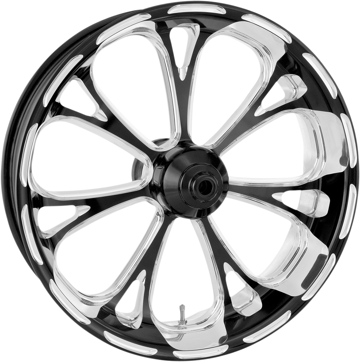 "Performance Machine Virtue 18"" Non ABS Rear Wheel 09-19 Harley Touring FLHX"