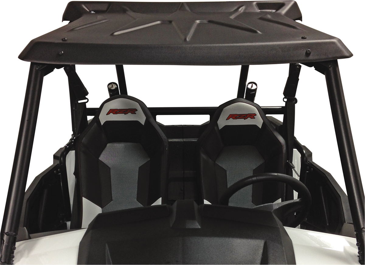 Moose Utility Black Side by Side UTV Roof for 14-18 Polaris RZR 1000 900