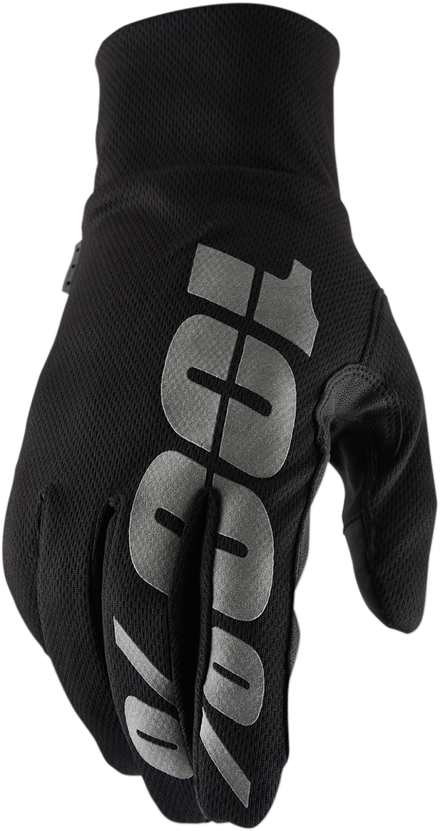 100% Mens Textile Hydromatic Offroad Riding Dirt Bike Racing Slip On Gloves