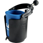 "RAM SELF-LEVELING CUP HOLDER AND COZY WITH 1"" BALL"