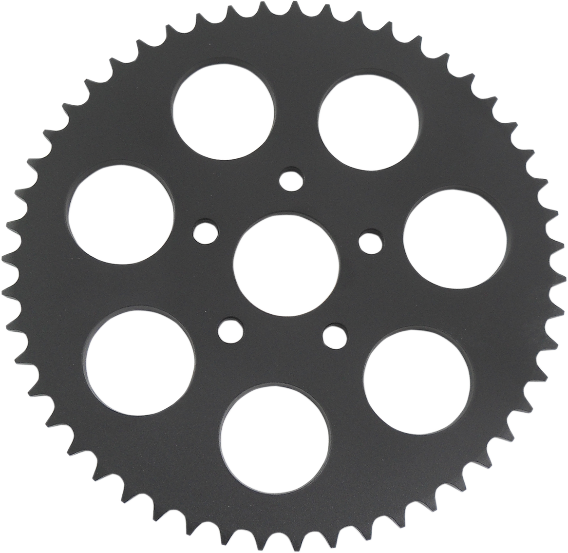 Drag Specialties Black 49 Tooth Dished Rear Sprocket for 79-99 Harley Touring XL