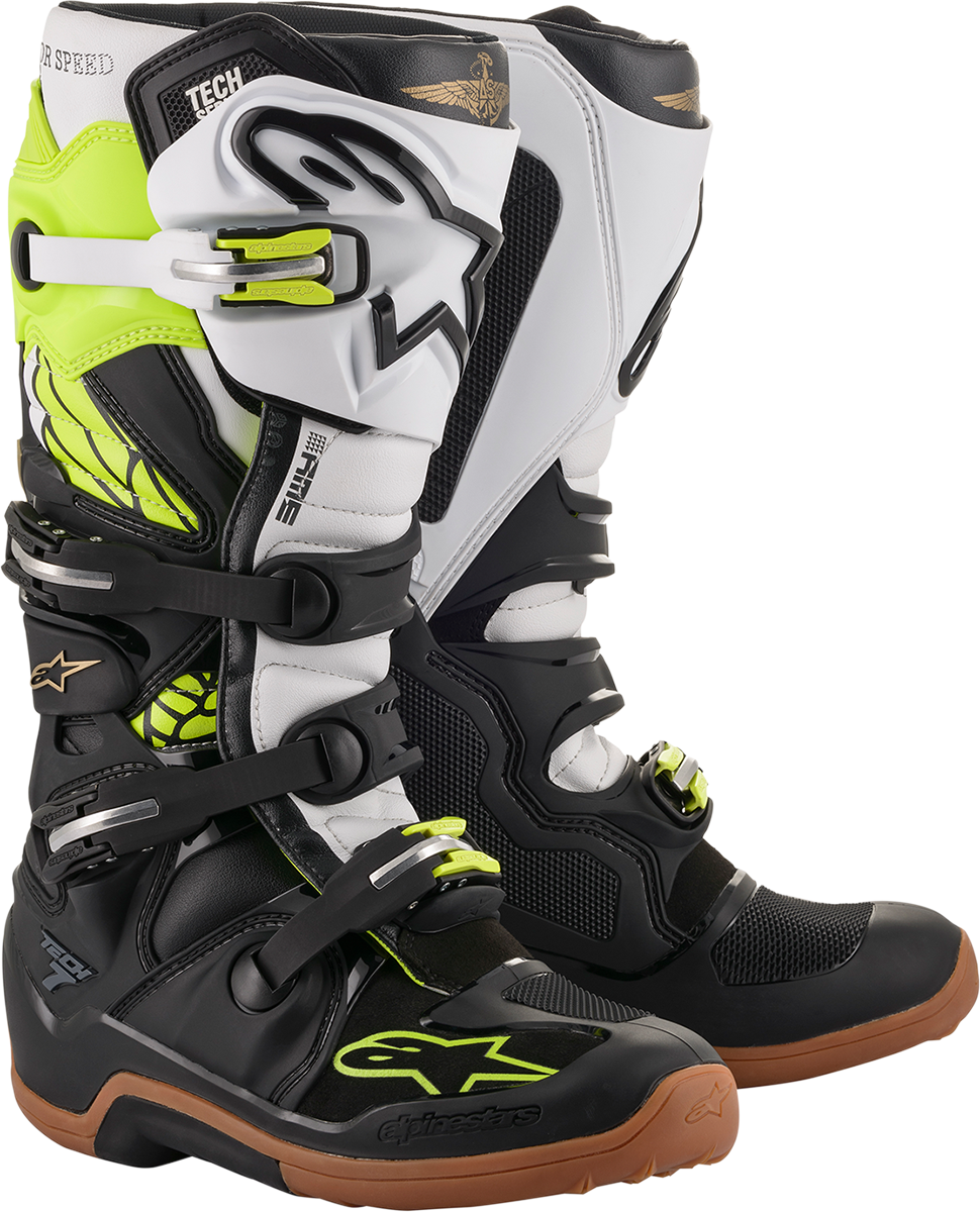 Alpinestars limited Edition Tech 7 Seattle Offroad Riding Dirt Bike Racing Boots