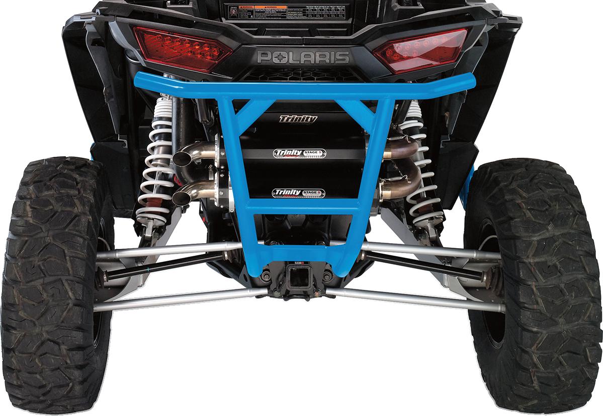 Moose Racing UTV Steel Blue Rear Bumper for 15-18 Polaris RZR 1000 XP 900