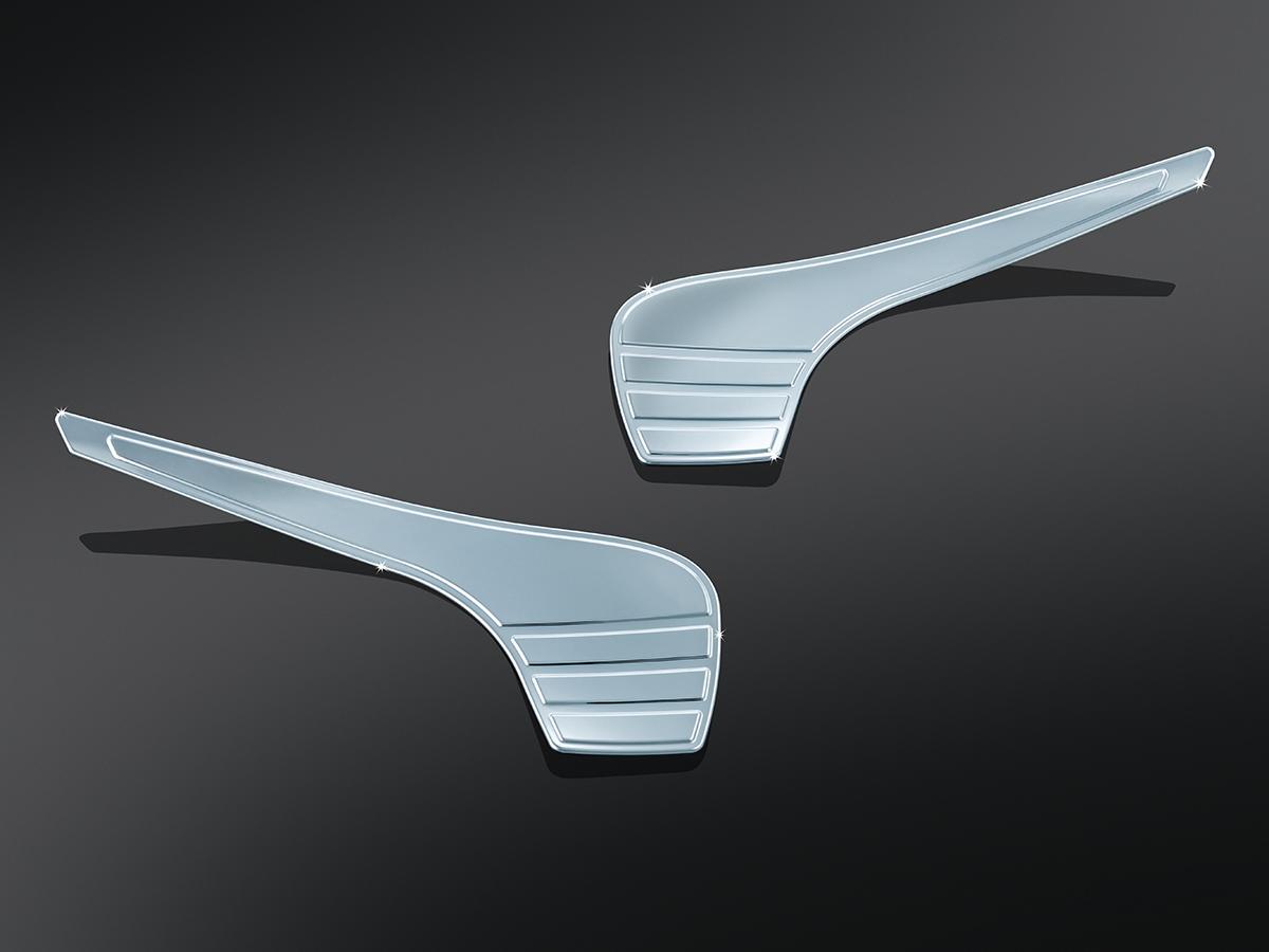 Kuryakyn 6903 Chrome Tri Line Fairing Accent for 14-18 Harley Touring FLHX FLHTK
