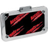 LICENSE PLATE FRAME ASSEMBLY WITH LED LIGHT