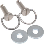 SADDLEBAG FASTENERS/RECEPTACLES