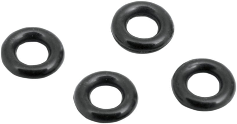 Mikuni 4 Pack Black HSR45 Carburetor O-Rings for Harley Davidson