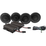 FRONT/REAR SPEAKER KIT WITH 600-WATT AMP