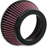 REPLACEMENT AIR FILTER FOR ORIGINAL STYLE LA CHOPPERS AIR CLEANER ASSEMBLY KITS AND AFFLICTION AIR CLEANERS