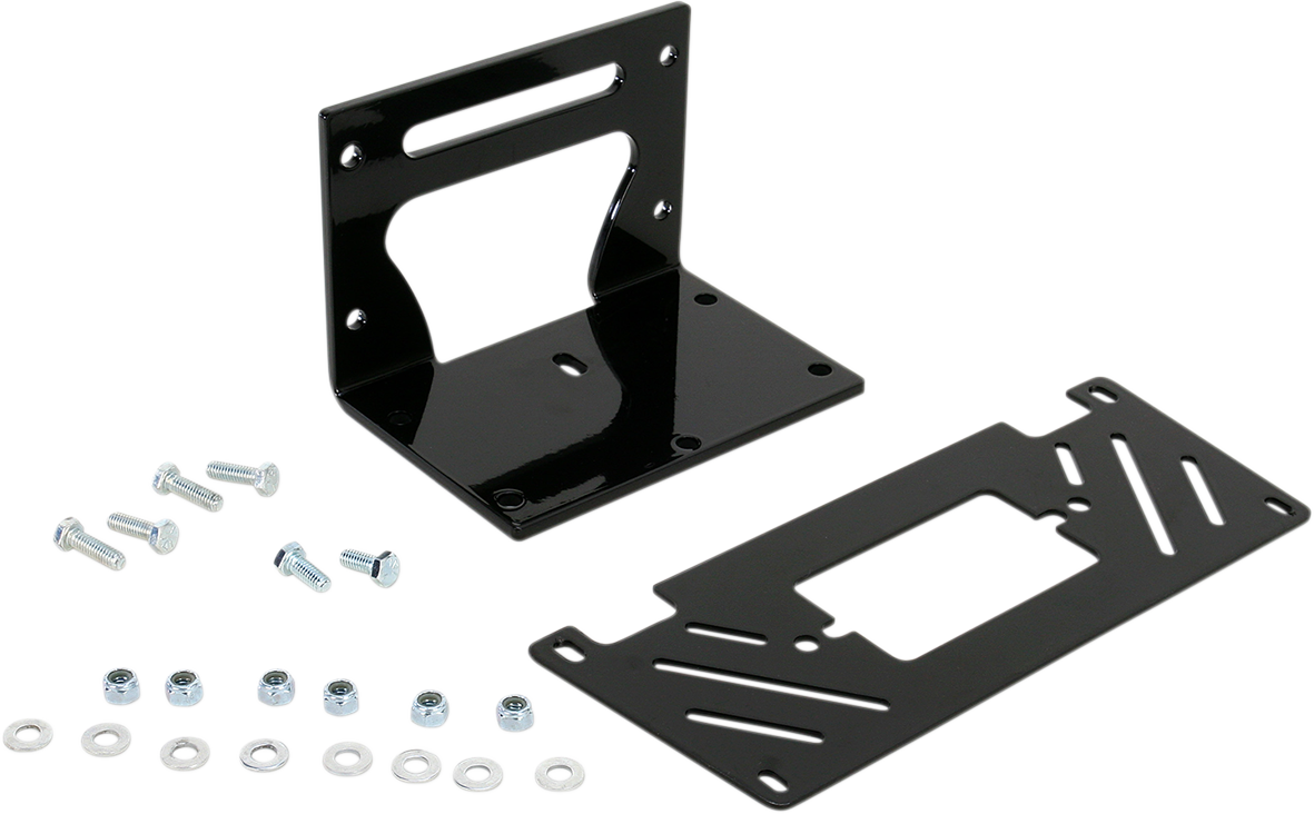Moose Utility Black UTV Front Winch Mounting Kit for 10-14 Arctic Cat Prowler